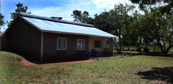 Rumah kediaman keluarga almarhum ayah Obama di Kongelo, Kenya.