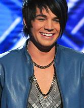 "Adam Lambert on ""American Idol"" on Tuesday"
