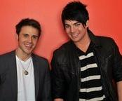 'American Idol' finalists, Kris Allen and Adam Lambert