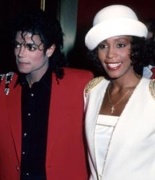 Michael Jackson and Whitney Houston at BET Award 2001